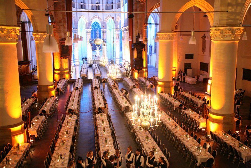 De Grote Kerk Den Haag Vergaderen Trouwen Feest Congres