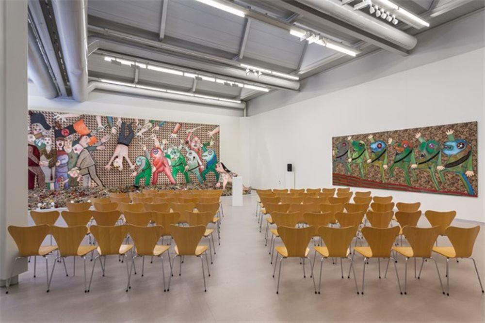 Ronde Tafel Amstelveen.Cobra Museum Voor Moderne Kunst Vergaderen Trouwen Feest