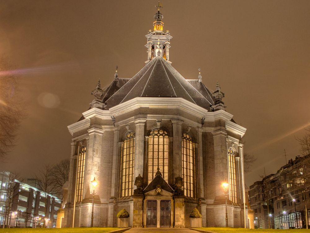 Nieuwe Kerk Vergaderen Trouwen Feest Congres