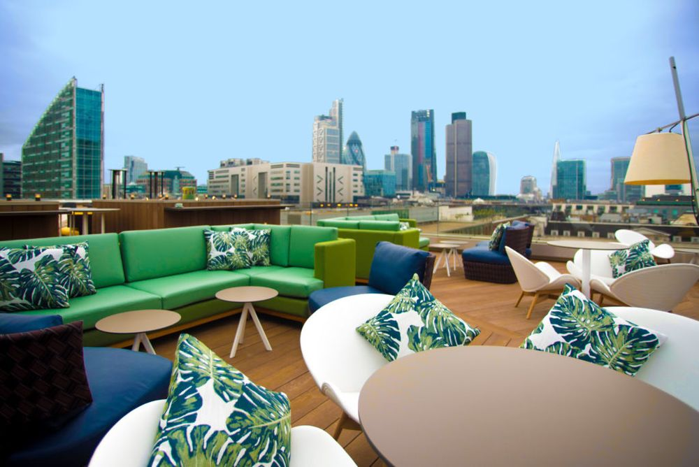 Aviary Rooftop Restaurant Terrace Events
